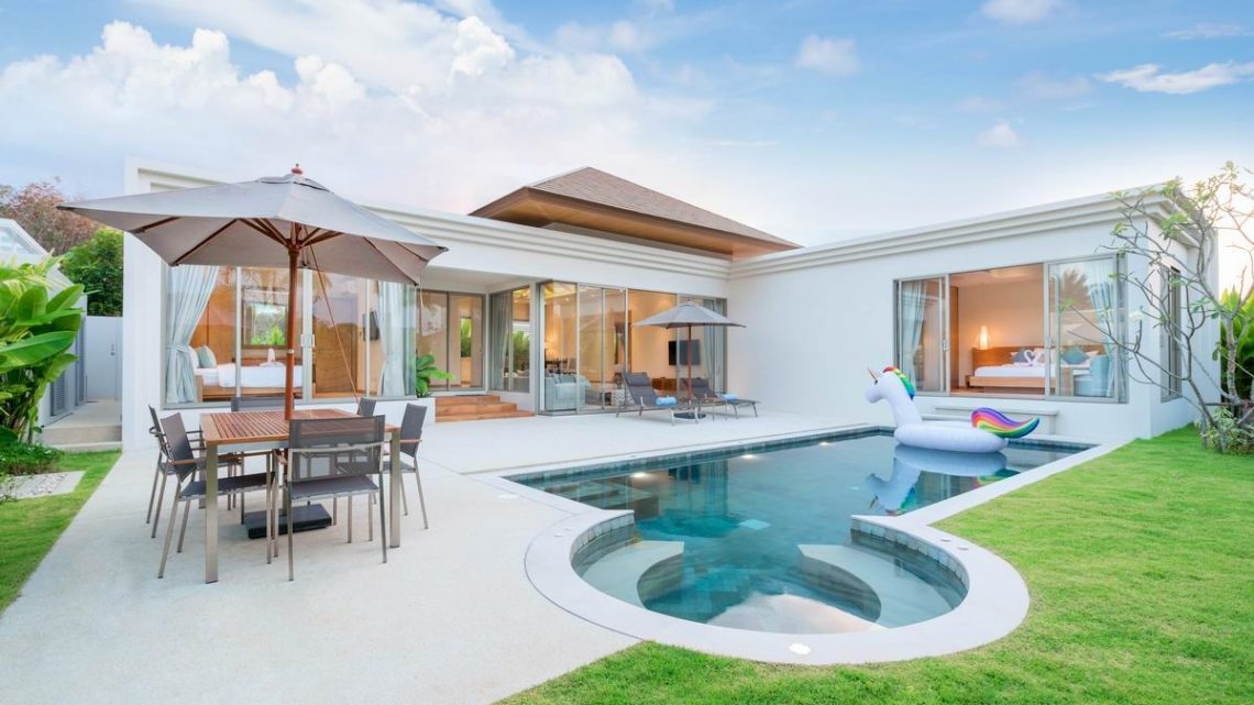 Villas de grand luxe: comme un air de bonheur