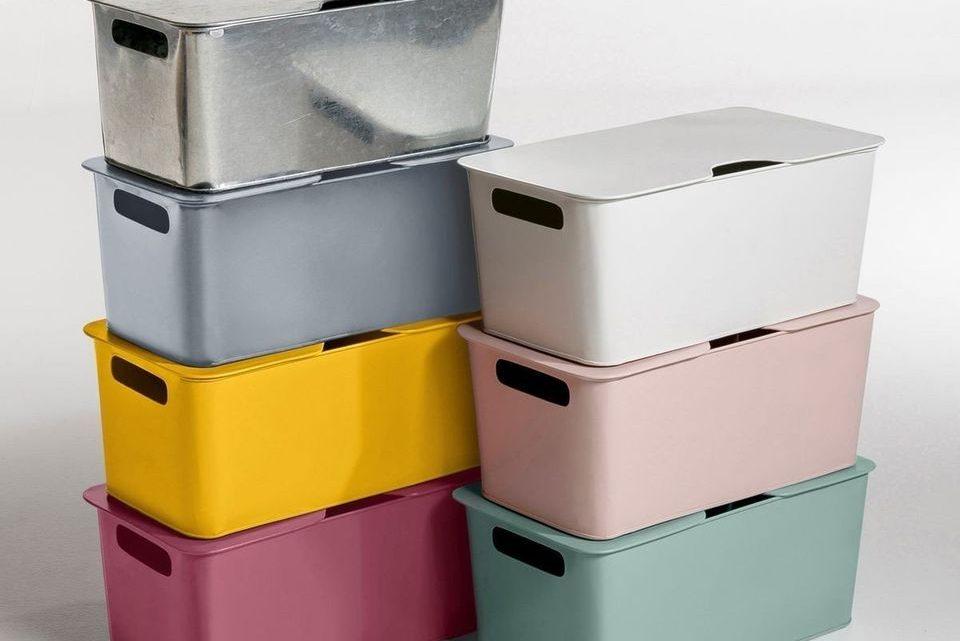 Large choix de boites de rangement pour tous les besoins